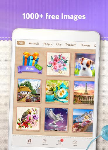 Magic Cross Stitch: Color Pixel Art 2.9.1 screenshots 9