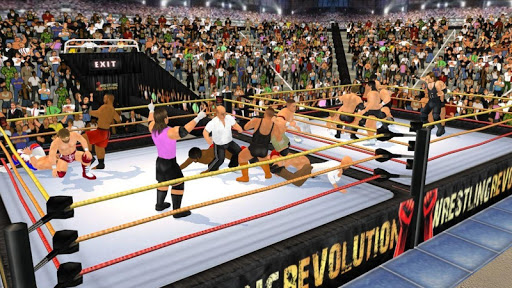 Wrestling Revolution 3D screenshots 20