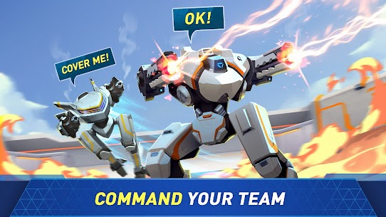 Mech Arena Robot Showdown Apk Mod , Mech Arena Robot Showdown Apk Unlimited Everything Download 3