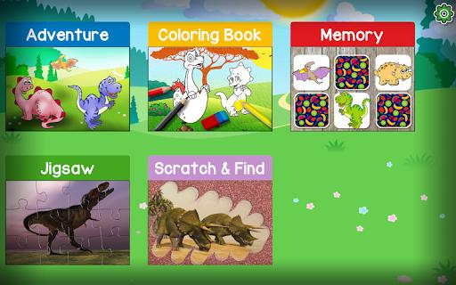 Kids Dino Adventure Game - Free Game for Children screenshots 7