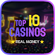 Top 10  Casinos Online - Real money