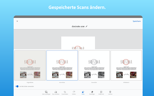 Adobe Scan: PDF scanner, PDF creator, OCR Capture d'écran
