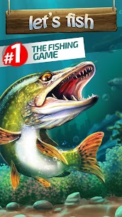 Let's Fish: Sport Fishing Games. Fishing Simulator Mod Apk 5.17.0 1