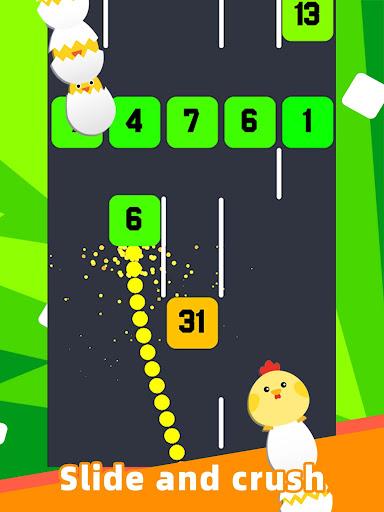 Slide And Crush - redesign snake game apktram screenshots 6