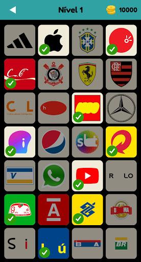Logo Test: Brasil Quiz & Jogo, Adivinher a Marca 2.3.5 screenshots 1