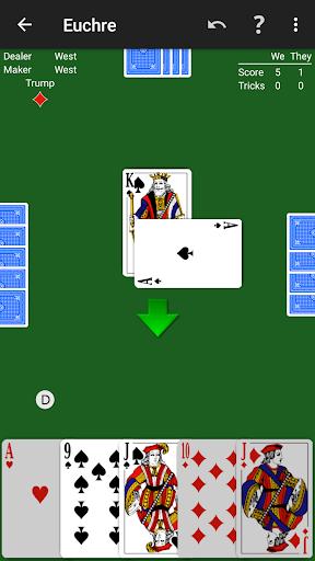 Euchre by NeuralPlay 2.70 screenshots 1