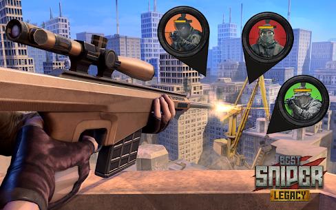 Best Sniper Legacy MOD Apk 1.07.7 (Unlimited Money) 1