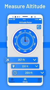 Measure Altitude: Elevation Altimeter App