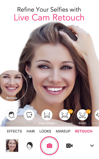 YouCam Makeup - Selfie Editor & Magic Makeover Cam  screenshots 5