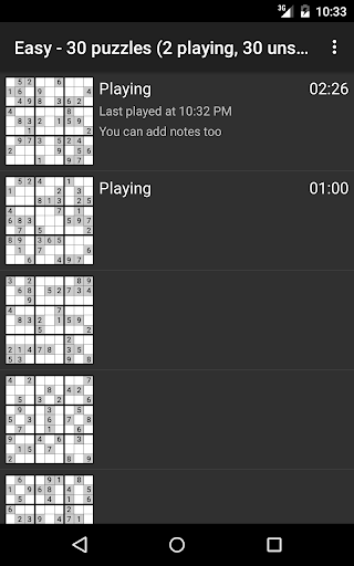 Open Sudoku 3.6.0 screenshots 10