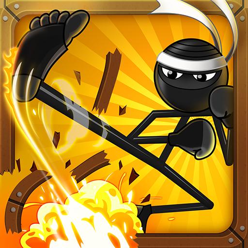 Stickninja Smash - Stickman Kung Fu Fighting