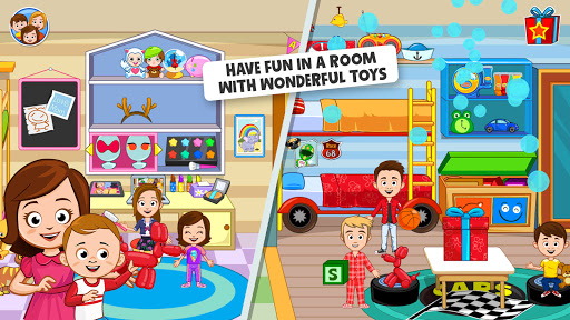 My Town: Home Dollhouse: Kids Play Life house game  screenshots 1