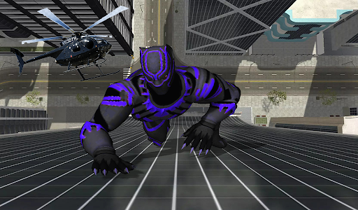 Super Black Hero Rope android2mod screenshots 4