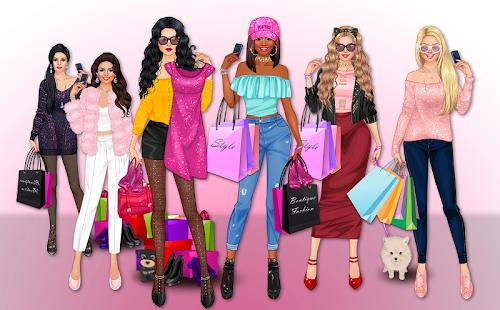リッチガールクレイジーショッピング-ファッションゲーム