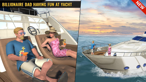Billionaire Dad Luxury Life Virtual Family Games 1.1.4 screenshots 1