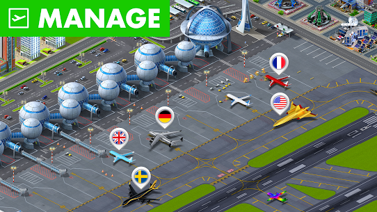 Airport City MOD (Unlimited Money) 1