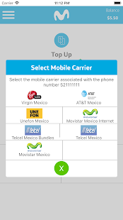 Movistar Top Up and Call