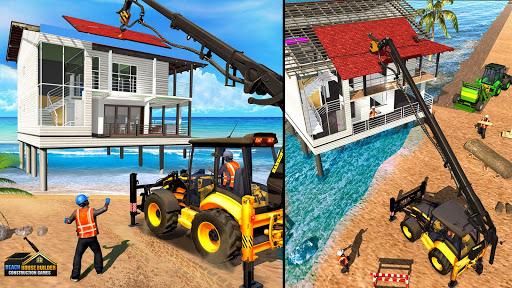 Beach House Builder Construction Games 2021 screenshots 3