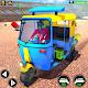 Modern Tuk Tuk Rickshaw Demolition Derby Stunts