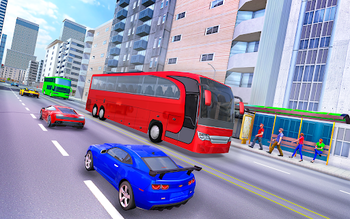 City Coach Bus Simulator 3d - Free Bus Games 2020 1.0.3 Screenshots 5