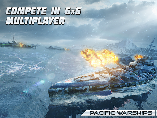 Pacific Warships: World of Naval PvP Warfare  screenshots 16
