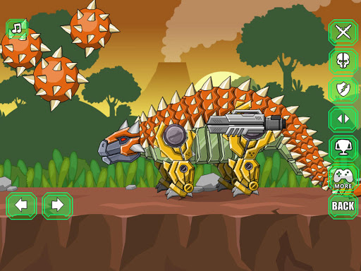 Robot Ankylosaurus Toy War screenshots 8