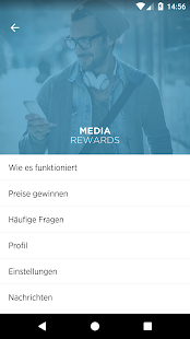 Media Rewards Screenshot