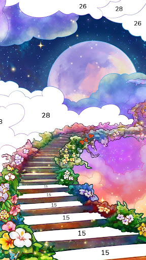Bible Coloring - Paint by Number, Free Bible Games  screenshots 3