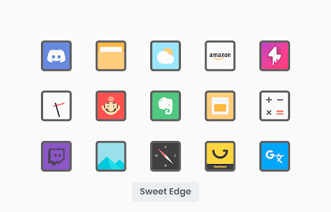 Sweet Edge Apk- Icon Pack 1.8 (Paid) Download 5