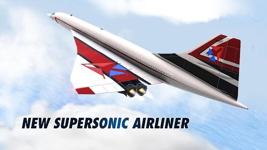Download Take Off The Flight Simulator (MOD, Money/Fuel/Fast Level Up) 6