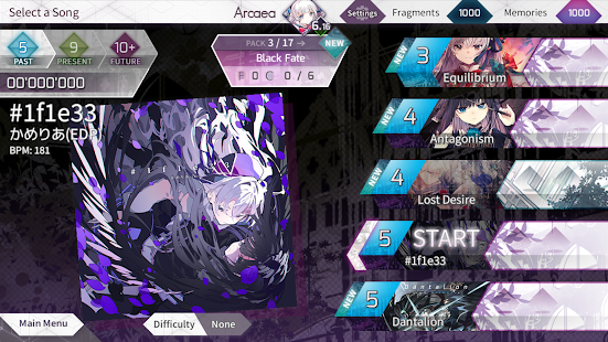 Arcaea - New Dimension Rhythm Game screenshots 2