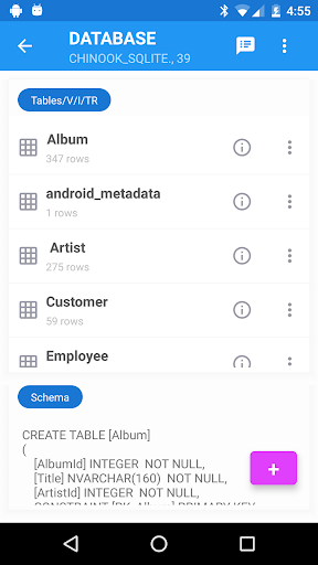 SQLite Editor Master 3.05 screenshots 2