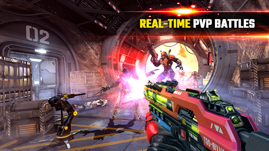 SHADOWGUN LEGENDS – FPS and PvP Multiplayer games 1.0.6 Apk + Data 2