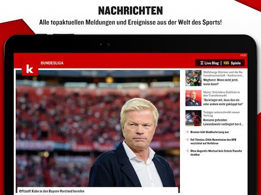 kicker Fußball News  screenshots 9