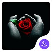 Rose|APUS Launcher theme