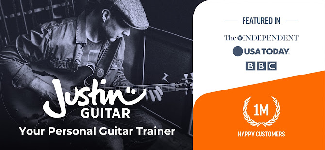 Justin Guitar Lessons & Songs: Learn How to Play 3.1.3 Screenshots 1