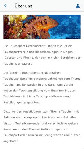 tauchgemeinschaft lingen e.v. screenshot 3