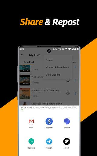 Video Downloader, Private File Downloader & Saver apktram screenshots 19