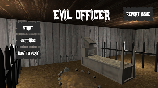 Evil Officer - Horror House Escape screenshots 1