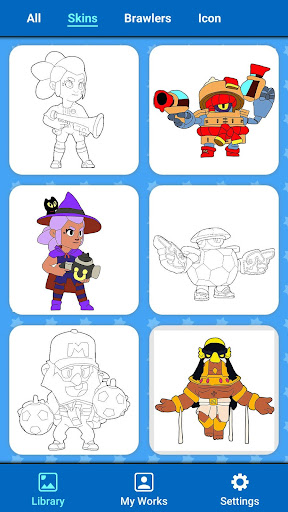 Coloring for Brawl Stars 0.27 screenshots 17