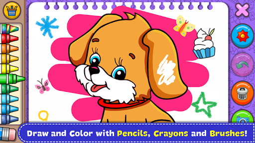 Coloring & Learn Animals - Kids Games 1.18 screenshots 1