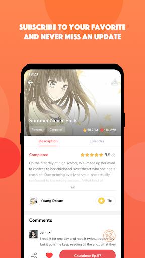mangatoon-good comics, great stories screenshot 3