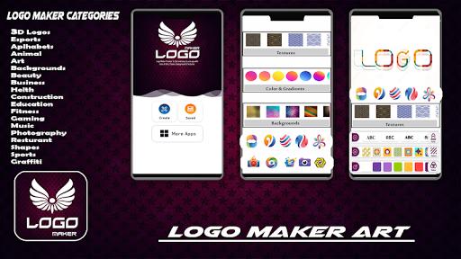 Logo Maker Free - 3D Logo Creator, Logo Design Art 1.3 Screenshots 1