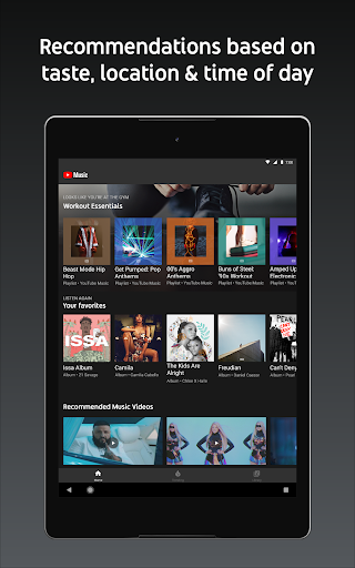 Youtube Music Stream Songs Music Videos Apps On Google Play