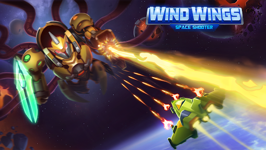 WindWings: Hạm Đội Không Gian – Galaxy Attack Ver. 1.2.21 MOD APK | Unlimited Money | Unlimited Diamonds | Unlimited Energy 7