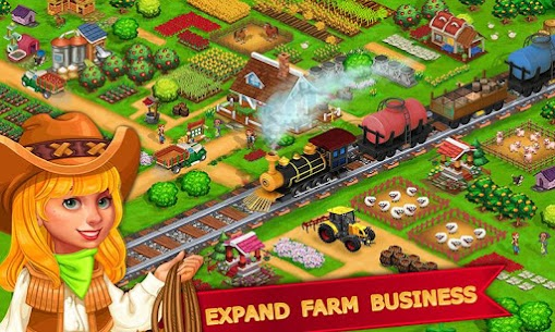 My Farm Town Village Life best Farm Offline Game Apk Download NEW 2021 5