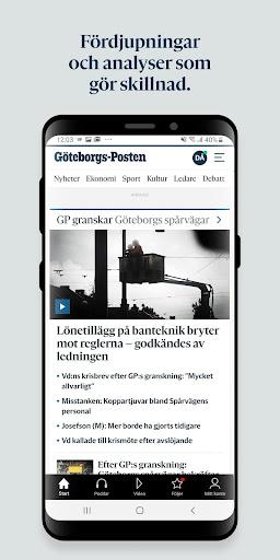 Göteborgs-Posten  screenshots 2