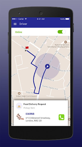 hello delivery driver screenshot 2