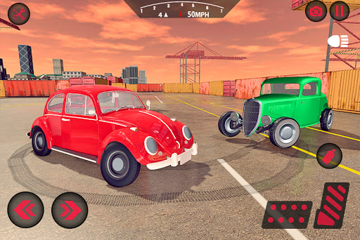 Classic Car Driving 2021: Free Car Parking Games 2.1 screenshots 2