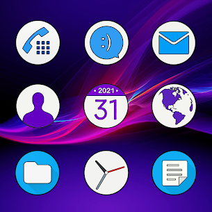 Xperia – Icon Pack v5.0 [Patched] 2